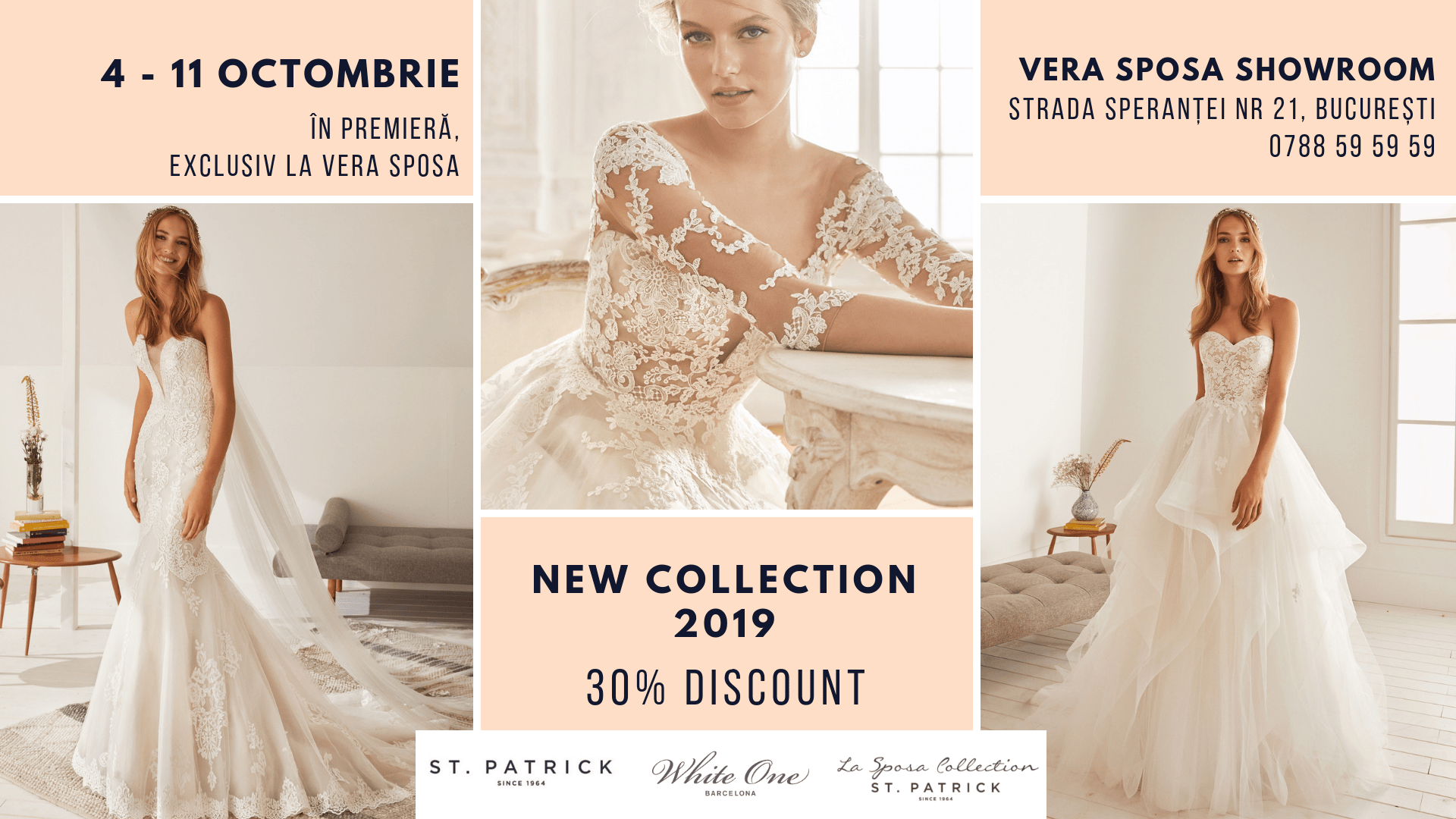 Special Discount Week – Colecțiile Pronovias Group 2019