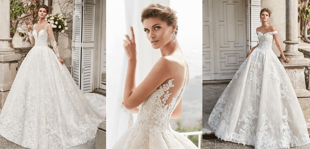 Cum a fost reinventată rochia de mireasă stil prințesă în noul sezon