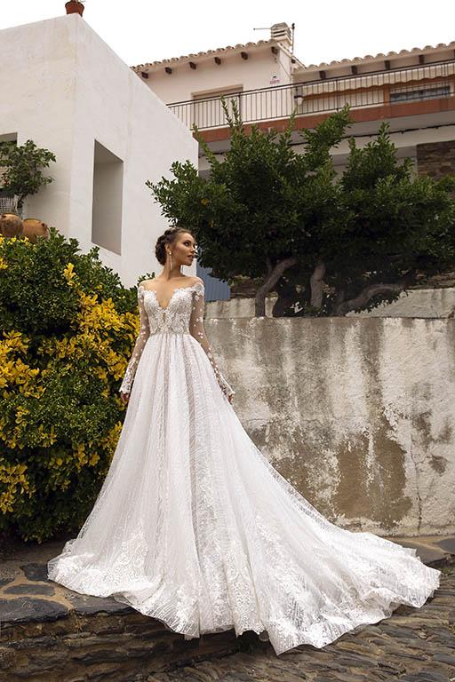 rochie de mireasa ampla