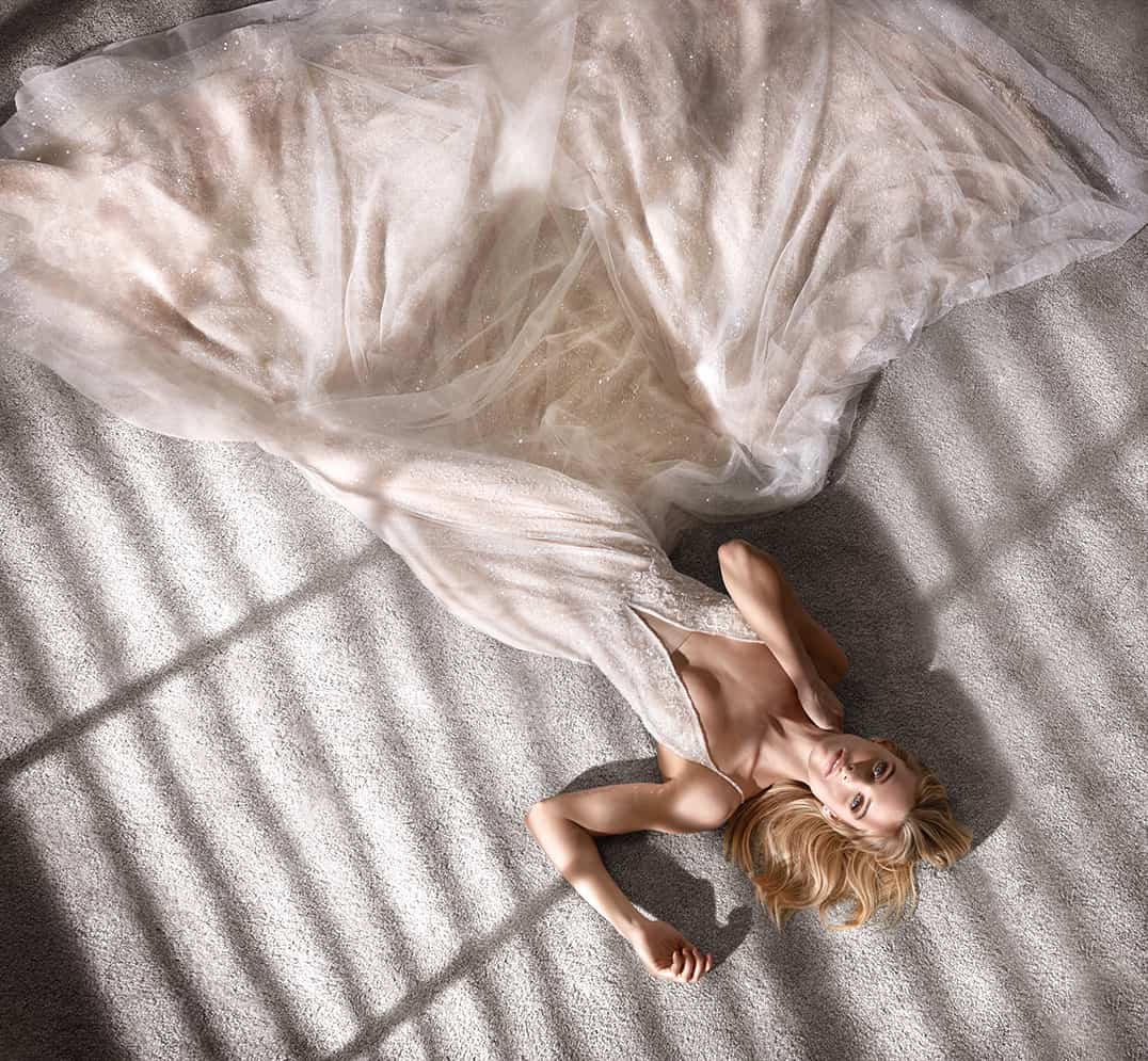 Glamour și strălucire. Un nou designer completează portofoliul Vera Sposa